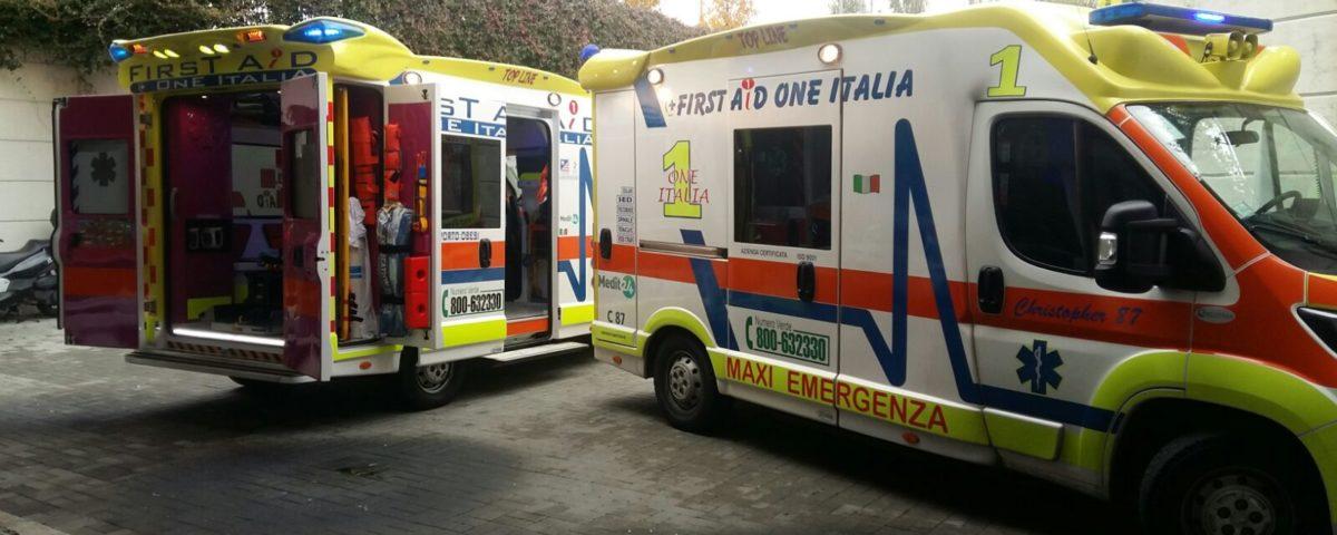Ambulanza privata Milano